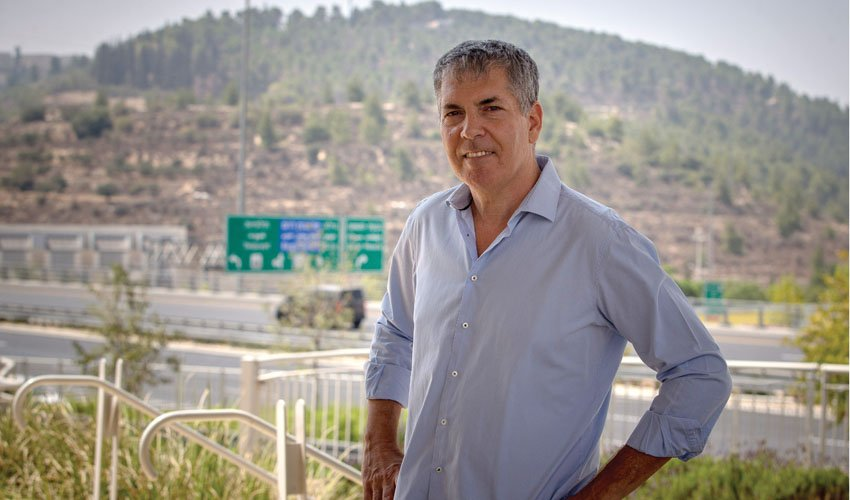 דורון נויוירט מנכל מוריה (צילום: אורן בן-חקון)