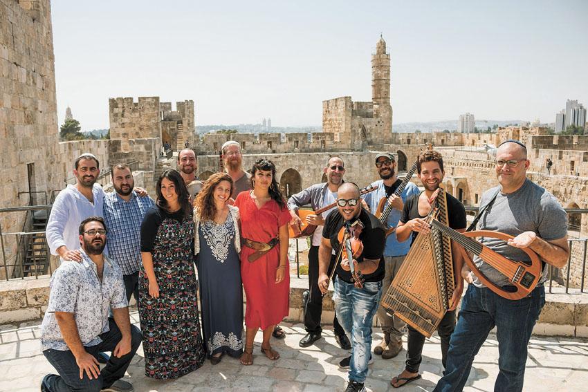 סליחות נוסח תחריר במוזיאון מגדל דוד (צילום: ריקי רחמן)
