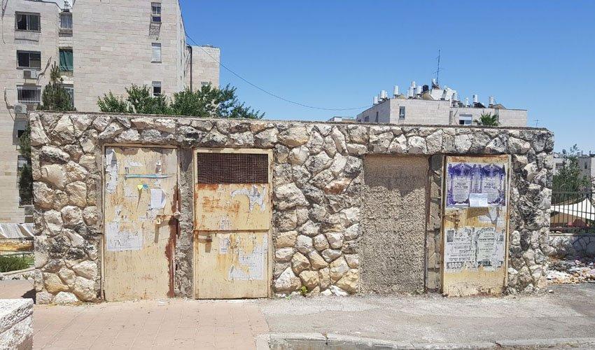 המבנה שהוצע לשיטור הקהילתי (צילום: ארגון השומרים נוה יעקב)