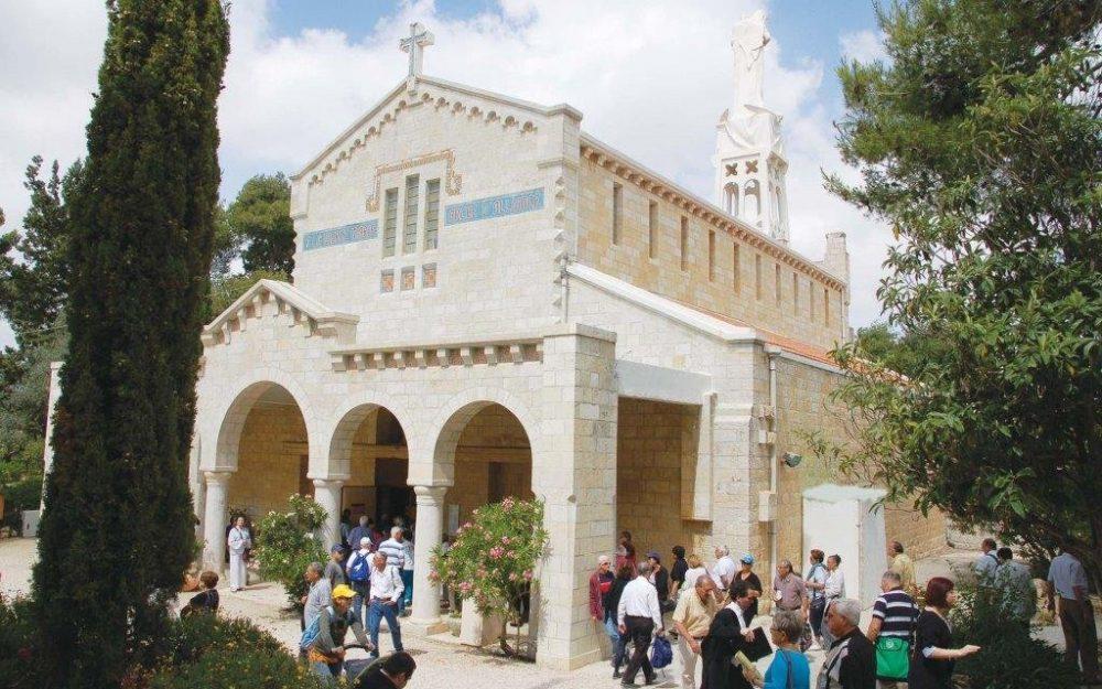 פסטיבל אבו גוש בכנסיית קרית יערים (צילום: דני ארד)