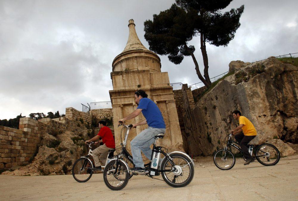 משחק ניווט בטיילת (צילום: ארכיון עיר דוד)