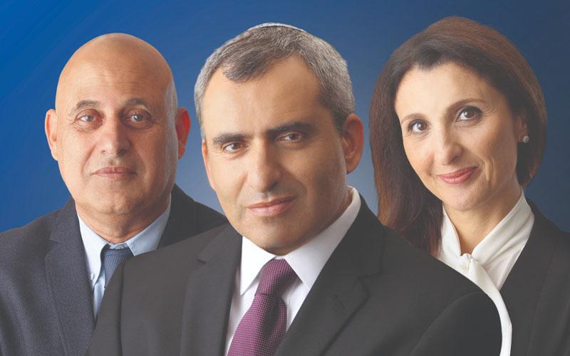 פלר חסן-נחום, זאב אלקין ויהודה בן יוסף