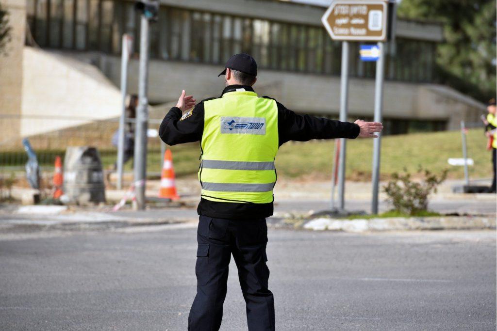 שוטרים בירושלים (צילום: דוברות המשטרה)
