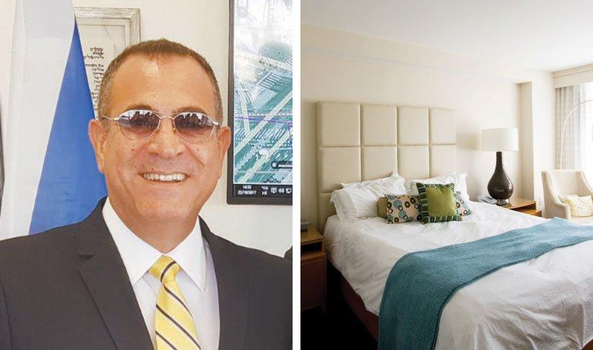 חדר במלון, אלי יצפאן (צילומים: יחסי ציבור, א.ס.א.פ קריאייטיב INGIMAGE)