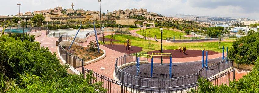 פארק במעלה אדומים (צילום: עיריית מעלה אדומים)