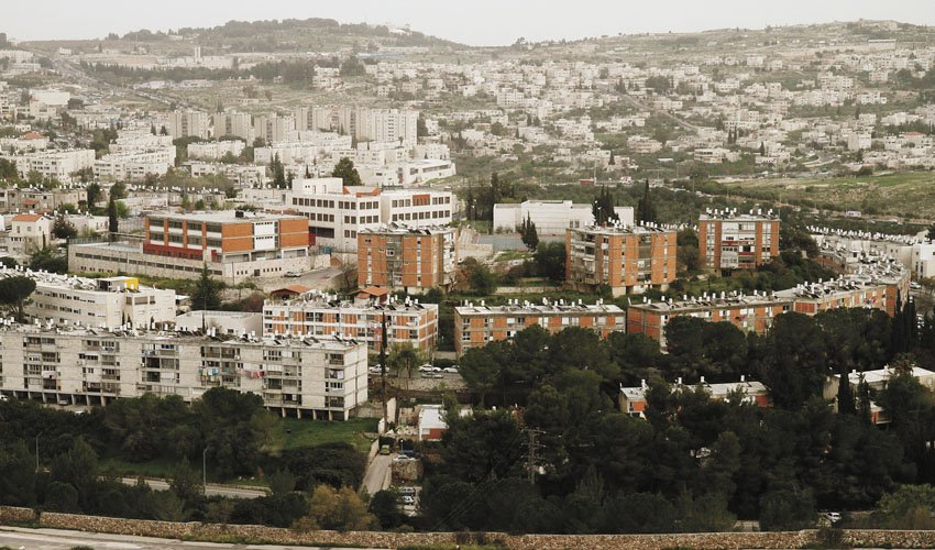 שכונת קטמון (צילום: אמיל סלמן)
