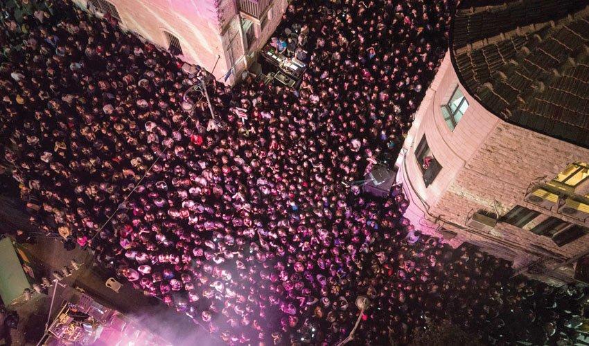 פסטיבל אינדי סיטי (צילום: אלישע ברודסקי ועומר בורין)