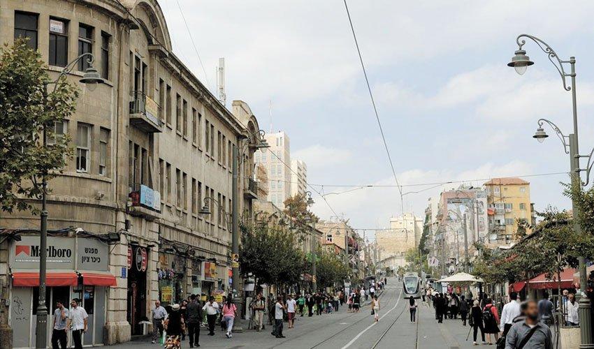 מרכז העיר (צילום: גיל יערי)