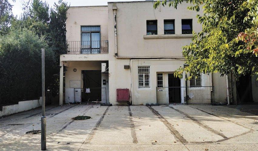 בית הוועד בית הכרם - המקום שבו יפעל הבר קפה (צילום: שלומי הלר)