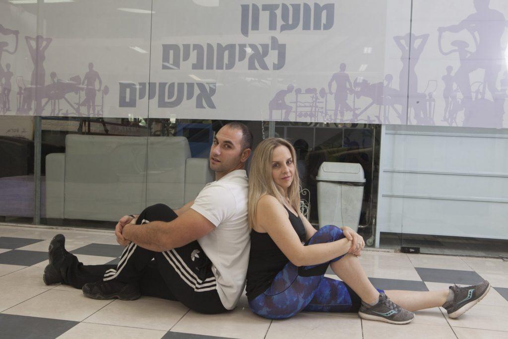 מני וליה אלבז - סקיי ג'ים (צילום: ליאור מזרחי)