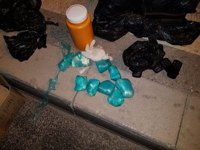 סמים מסוג הרואין (צילום: דוברות המשטרה)