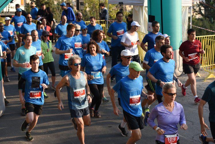 המרוץ היהודי-ערבי הגדול בירושלים (צילום: נחשון פיליפסון)