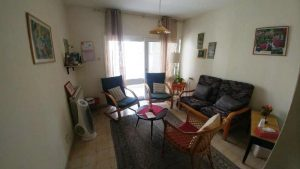 הדירה ברחוב סוקולוב, טלביה (צילום: משה בבני)