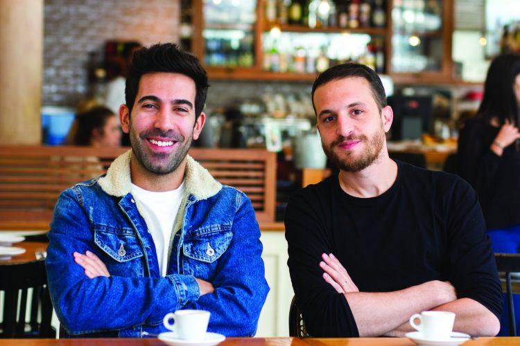 ניר דוד ונועם צוברי (צילום: אסף קרלה)