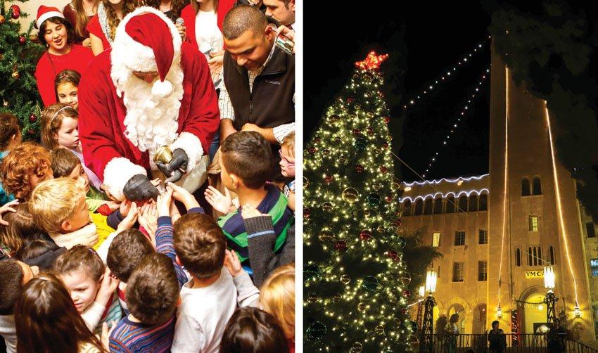 חג המולד בימקא (צילומים: הדר אלפסי)