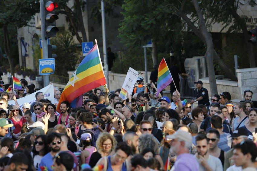 מצעד הגאווה בירושלים 2016 (צילום אורן בן חקון)
