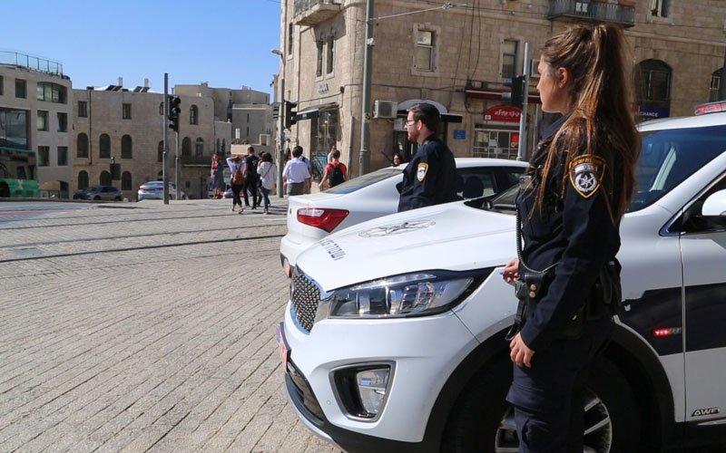 היערכות משטרתית בירושלים (צילום: דוברות המשטרה)