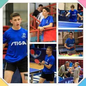 שחקני הנוער ההישגי של האגודה (צילום: איגוד טניס שולחן בישראל)