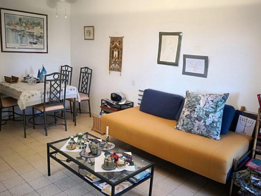 הדירה ברחוב מאיר נקר, ארמון הנציב (צילום: פנינה רוזנטל)