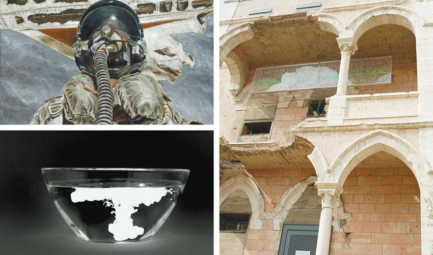 תערוכה במוזיאון על התפר (צילומים: רפי אתגר, יורם רוזוב, באדיבות מוזאון על התפר)