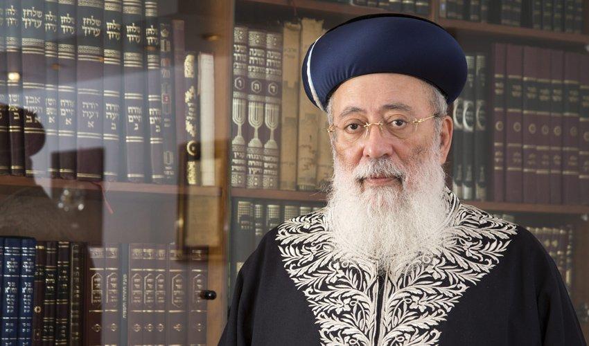הרב שלמה עמאר (צילום: אוליבייה פיטוסי)