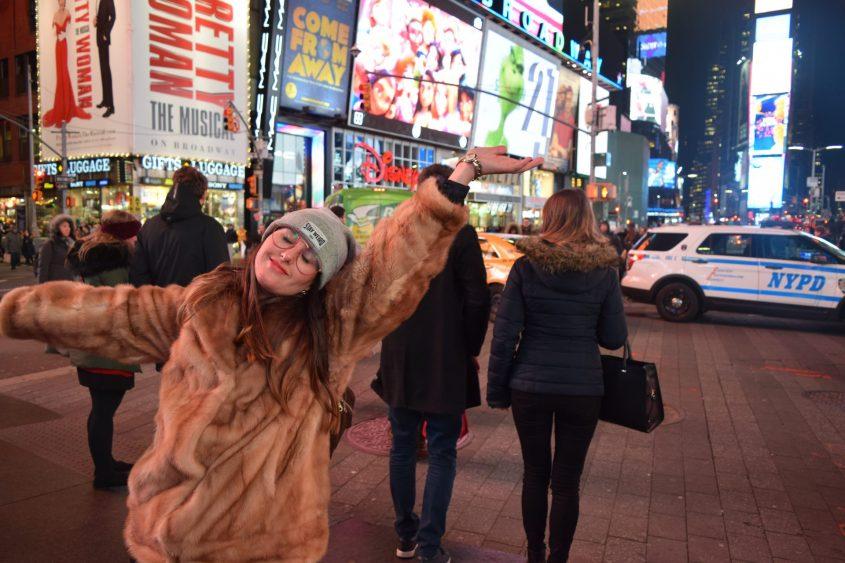 מזל עושה את ניו יורק (צילום: נטעלי צוברי)