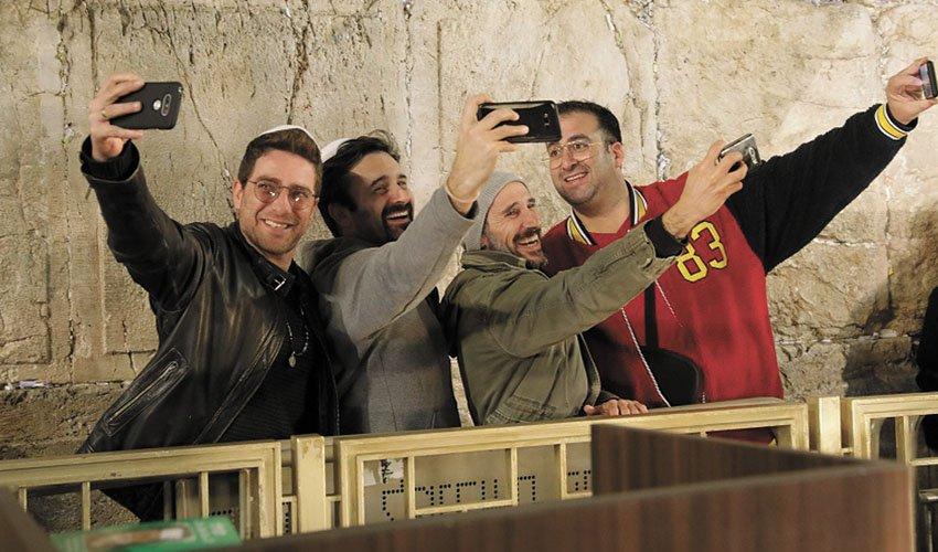 קובי מאור, דורון בן דוד, גיא לואל, משה אשכנזי (צילום: רפי דלויה)