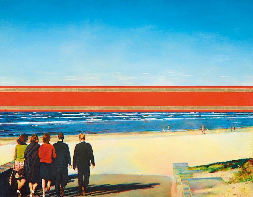 """מתוך התערוכה """"הניצחון של השמש: גלגולו של האוונגרד הרוסי"""" (צילום: Naomi van der Lande, באדיבות Museum of Avant-Garde Mastery)"""