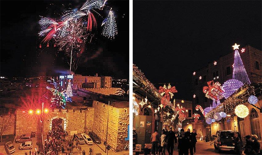 שני ברחבי העיר: חוגגים את בואה של השנה החדשה