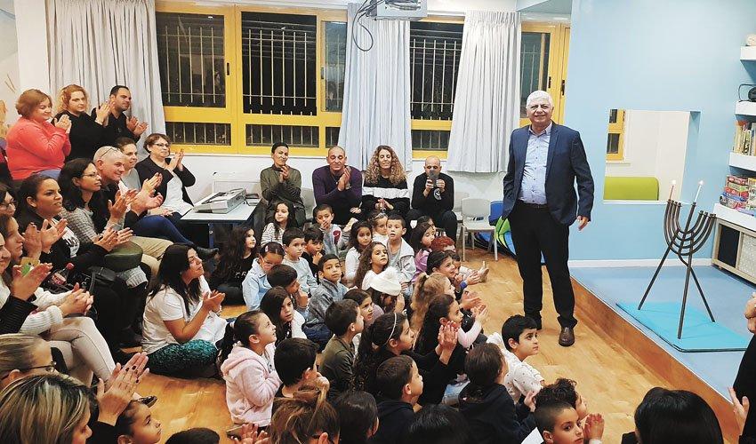 מרחב הלימוד החדשני בבית הספר מגדים (צילום: עיריית מעלה אדומים)
