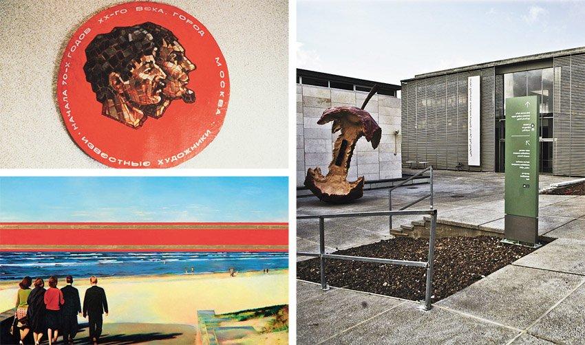 """מוזיאון ישראל, מתוך התערוכה """"הניצחון של השמש: גלגולו של האוונגרד הרוסי"""" (צילומים: תומר אפלבאום, Naomi van der Lande, באדיבות Museum of Avant-Garde Mastery)"""