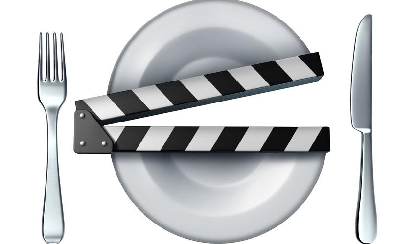 סרט עם ארוחה (צילום: א.ס.א.פ קריאייטיב INGIMAGE )