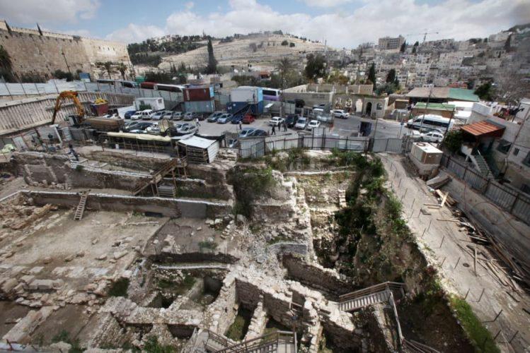 חפירות בעיר דוד (צילום: אלכס ליבק)