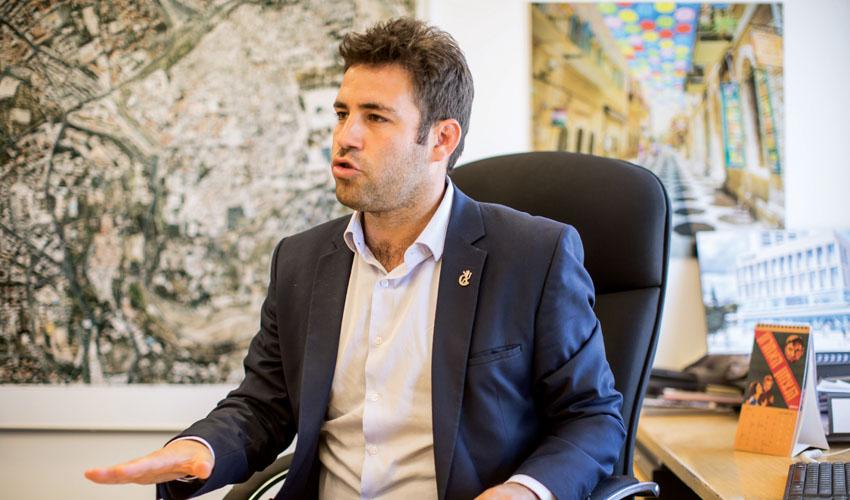 עופר ברקוביץ (צילום: אמיל סלמן)