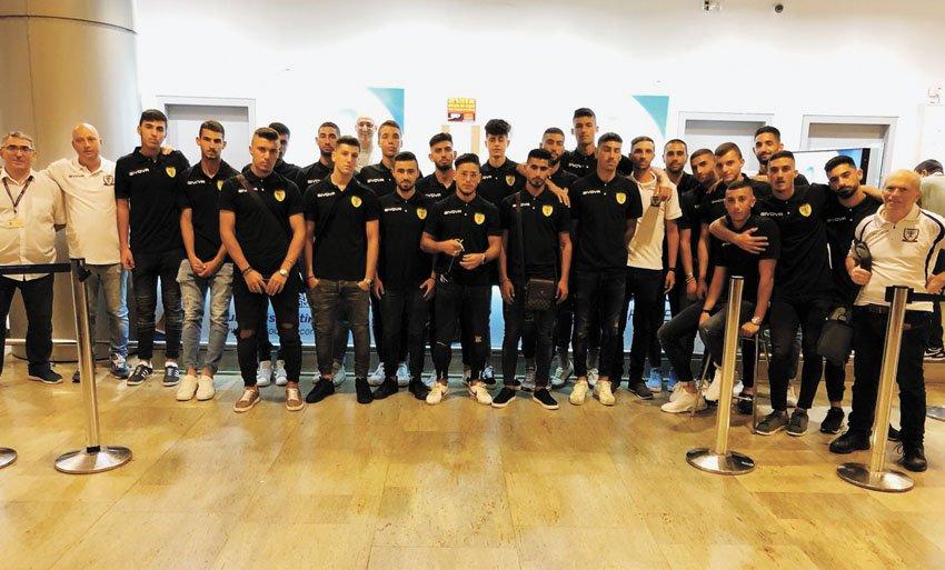 """קבוצת הנוער של בית""""ר (צילום: באדיבות בית""""ר ירושלים)"""