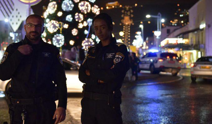 חגיגות הסילבסטר והנובי גוד (צילום: דוברות המשטרה)