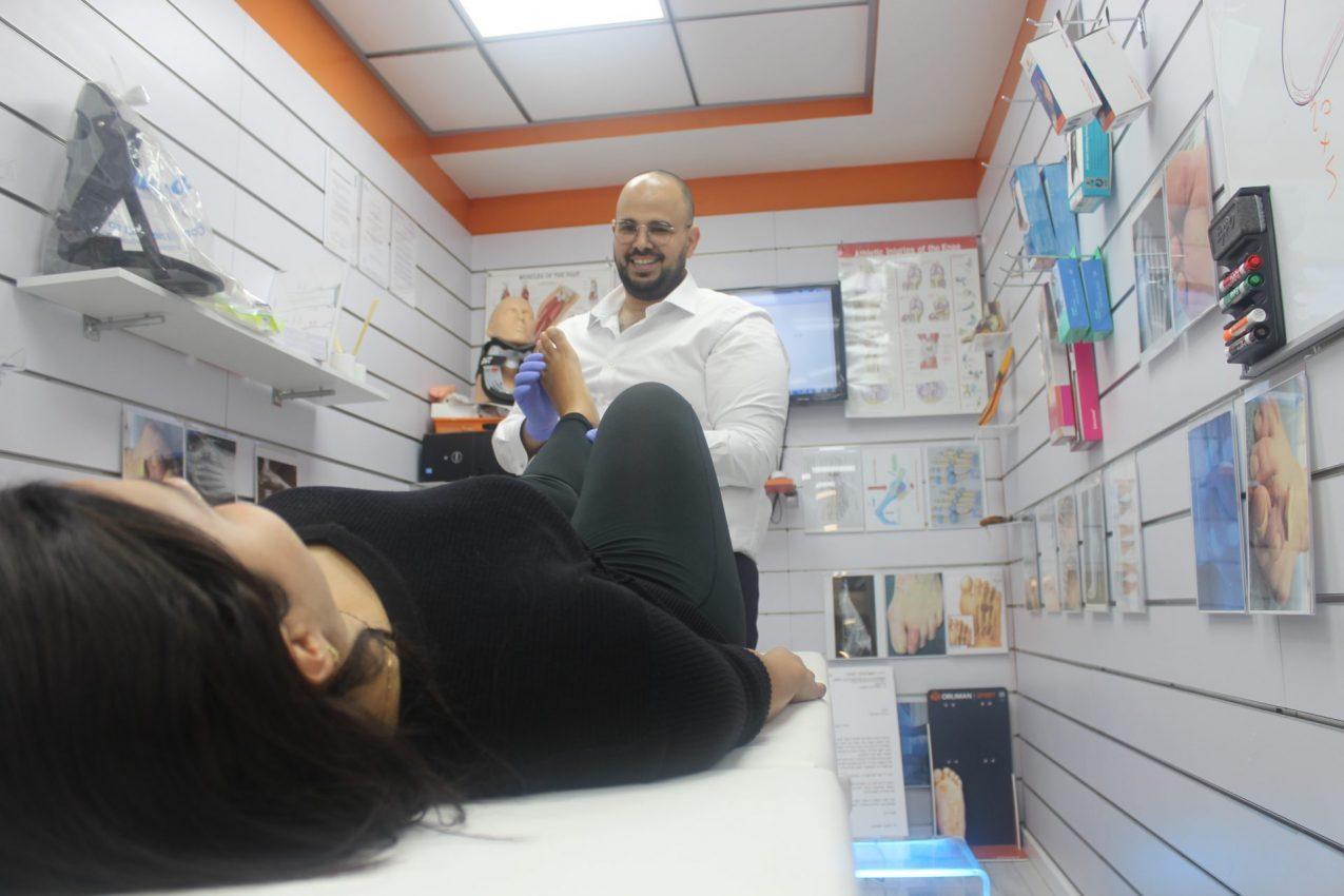 עקב אכילס, אליחי זאנה (צילום: אריאל חזן)