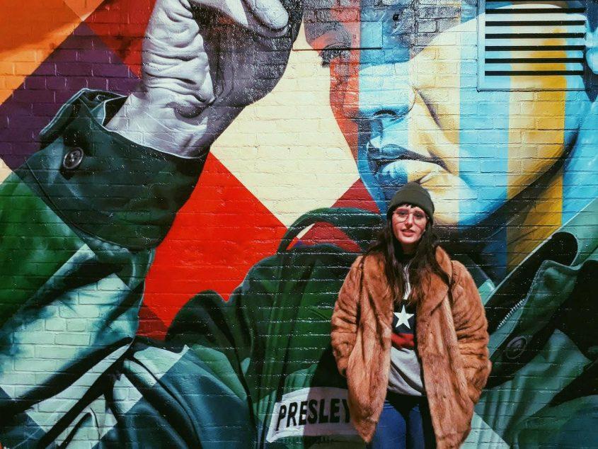 רות פון שטראוס בברוקלין (צילום: ויטוריה ראפונה)