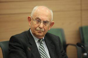 השופט בדימוס אליעזר גולדברג (צילום: מיכל פתאל)