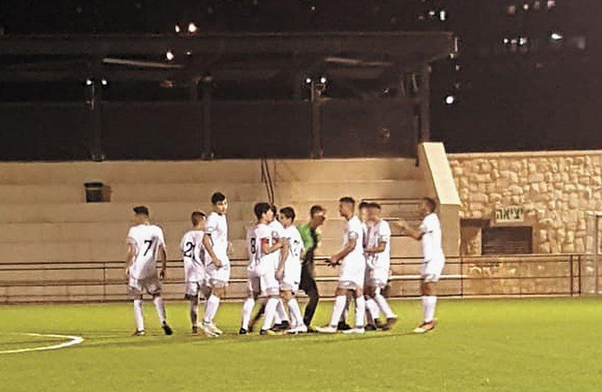 מחלקת הנוער של הפועל ירושלים (צילום: מחלקת הנוער של הפועל ירושלים)