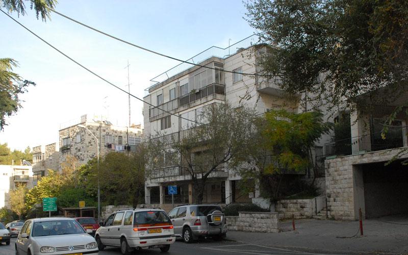 רחוב טשרניחובסקי, ירושלים (צילום:אוריה תדמור)