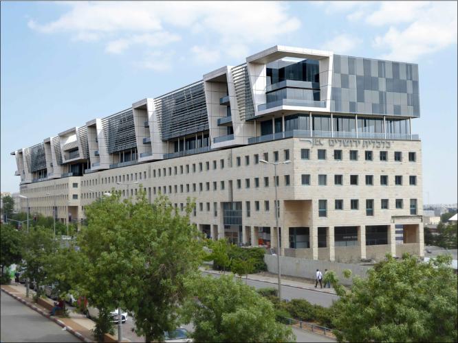 בניין 'החברה הכלכלית' (הדמיה: חיים שחר אדריכלים)