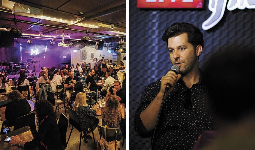 עמית שכטר, בר ההופעות 'נוקטורנו לייב' (צילומים: בריף)