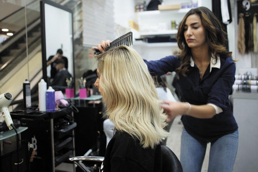 ערן עמשלום היופי שבשיער (צילום: יובל כהן אהרונוב)
