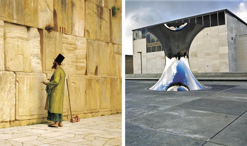 מוזיאון ישראל, מתוך התערוכה 'ההלך והדרך' (צילומים: תומר אפלבאום, ז'ן-לאון ז'רום)