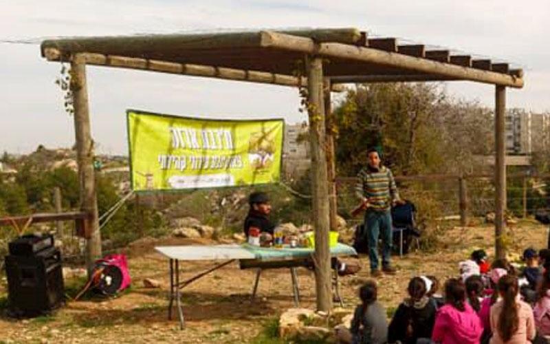אתר טבע עירוני בלב שכונת גילה - ח'רבת ארזה