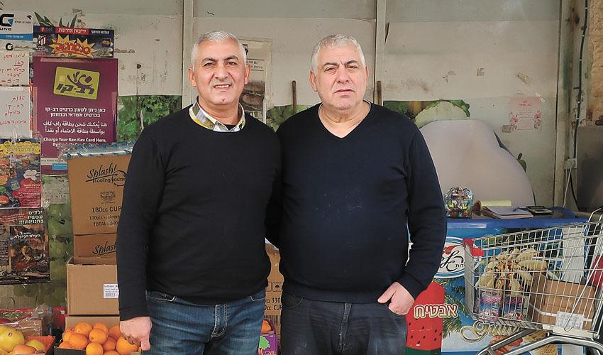 מאיר (מיקו) ושמעון תורג'מן סופר תורג'מן (צילום: אבי קליין)