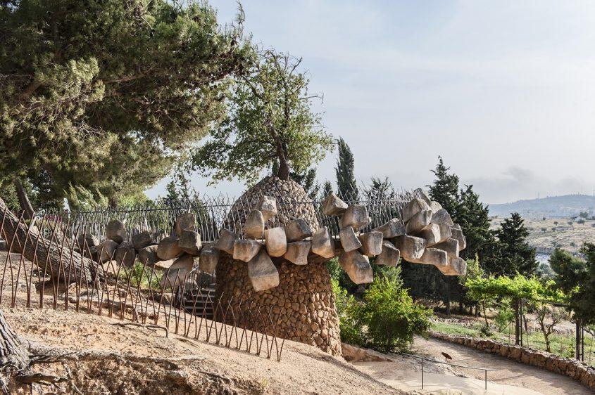 מצפה יאיר ברמת רחל (צילום: עודד סמדר)