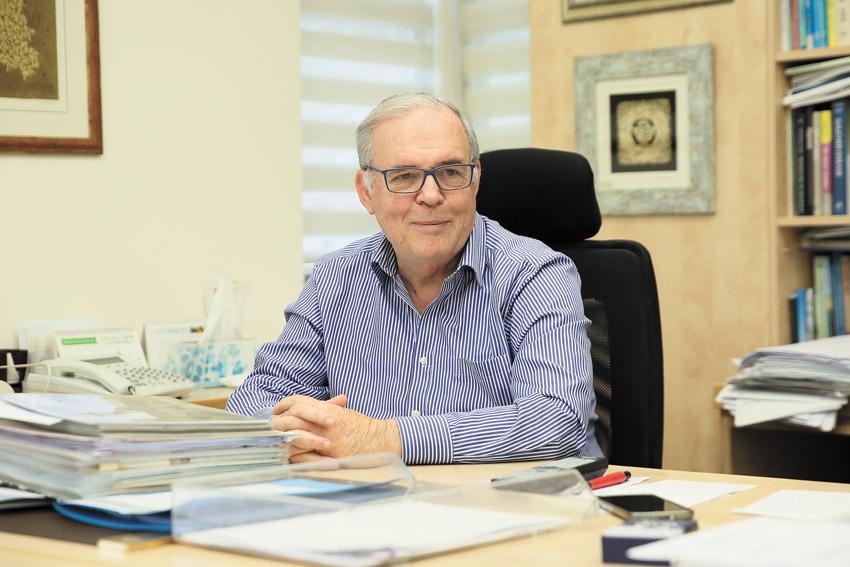 פרופ' יונתן הלוי (צילום: ארנון בוסאני)