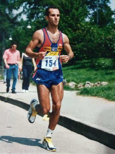 מאמן הריצה הרווה אטלי (צילום: אלבום פרטי)